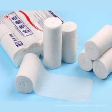Bandage de gaze médicale stérile