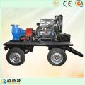 Remolque Motor Diesel Móvil (35HP45HP50HP) Bomba de agua para alcantarillado