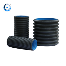 hdpe pipe factory sales 1000mm hdpe double wall corrugated pipe