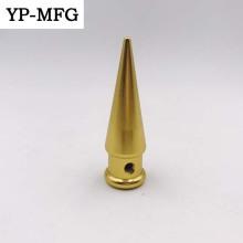 Manufacturing Golden Anodized Cnc Machining Aluminum Parts