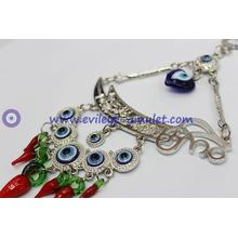 Turkish evil eye pendant home decoration sword and red pepper wholesale
