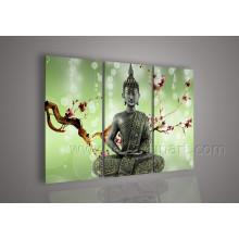 Decoração para casa Canvas Pintura a óleo religiosa (BU-016)