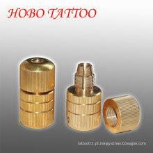 22 * 50mm latão máquina auto-bloqueio tatuagem apertos cartucho suprimentos