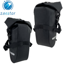 Bicycle Tool Rolling Strap-on Bike Under Seat Kit Pouch Accessories Storage Saddle Bag for Mountain Road Beach Cycling