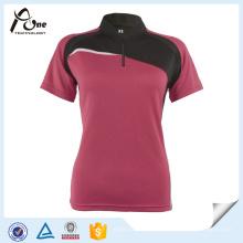 Damen-laufendes T-Shirt Großhandelsfrauen-Sportkleidung