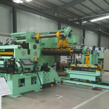 Servo Coil Handling Straightener Feeder 3 in 1