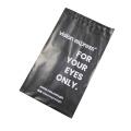 Enveloppe de courrier en plastique recyclable de conception personnalisée