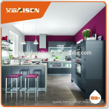 Professional manufacture factory directly 2015 european style lacquer display kitchen cabine