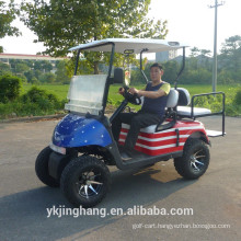 off road battery operated golf carts /4 seaters battery powered golf cart for sale