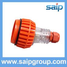 Промышленный штекер / латунный сердечник и штепсельные вилки saip / saipwell 3pins соответствуют международному стандарту
