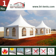 Pagoda Tent for White Roof Cover and Sidewalls for Hot Sales