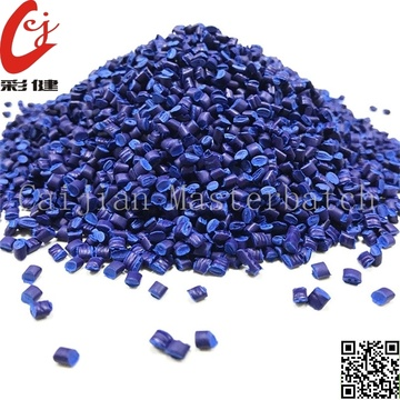 Blaue Masterbatch-Granulate