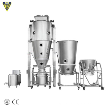 pharmaceutical flp fluid-bed processor granulator coating machine equipment