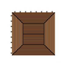 300 * 300 * 22 WPC / bois composite en plastique bricolage étage