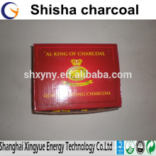 Performance hookah charcoal for shisha