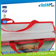 2015 hot sale promotional zipper bags with giant zipper