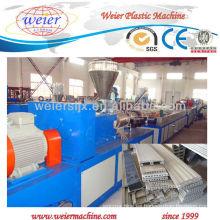 SJSZ65 / 132 twin screw wpc perfil plástico línea de producción