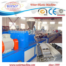 PVC wpc floor for outside machine