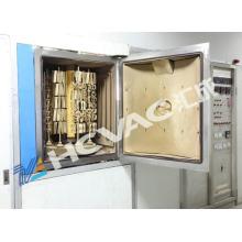 Mire la máquina de capa del oro de PVD / la máquina de capa del negro del jet de PVD / la tecnología de Sputtering de PVD Mf