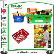 Small Food Shopping Basket with Handles
