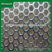Malha de metal perfurada resistente da estrutura forte