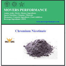 Mejor calidad de la comida de cromo mineral nicotinato