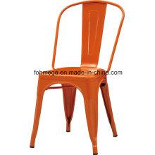 Chaises modernes de restaurant en métal pour l'aire de restauration (FOH-BCC19)