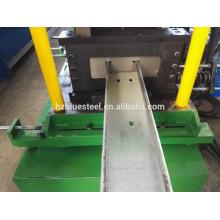 Bonne qualité Prix Changer de taille Cadre de toit CZ Channel Section U Forme Purling Mill Machine à former un rouleau à froid à vendre