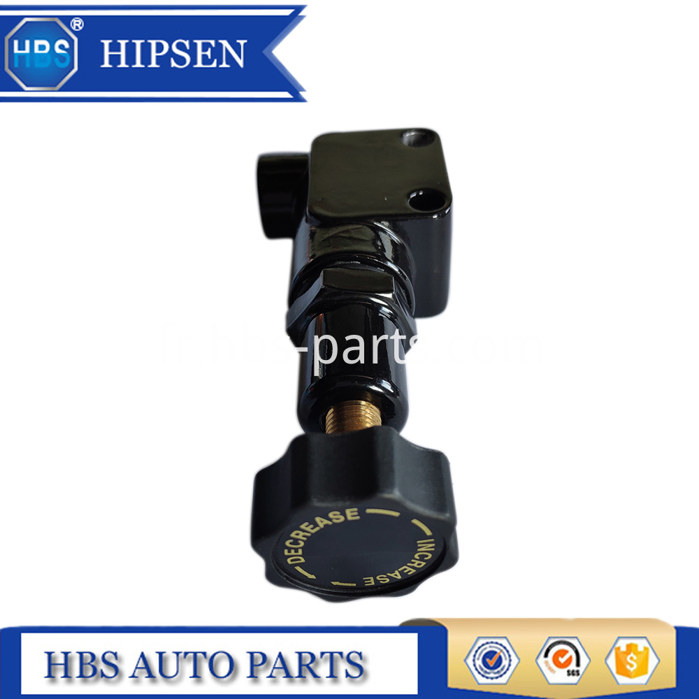 Black Aluminum Adjustable Proportioning Valve