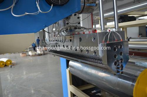 LLDPE automatic preservative film machine