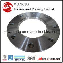 Aleación personalizada placa de acero brida de tubería
