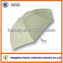 3 Falten Sie billige Mini Regenschirm