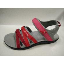 Easy Wear Open Toe Sandalias planas para las mujeres Verano