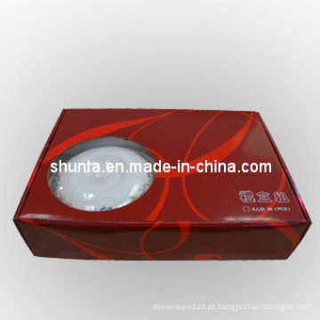 Caixas de presente de louça de louça de melamina de 100% / louças de mesa de melamina (QQBK049)