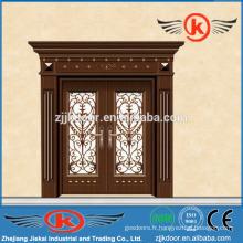 JK-C9041 fascinant chine peinture carving cuivre art porte mian porte