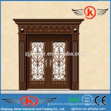 JK-C9041 fascinating china painting carving copper art door mian door