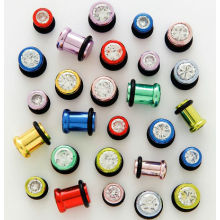 Fashion Stainless Steel Single Flare Plug, Expander Body Jewelry