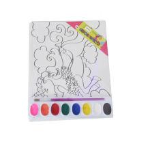 niños pintura magnética tablero de pintura