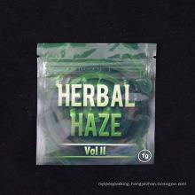 Moisture Barrier Herbal Packaging Zip Lock Bag