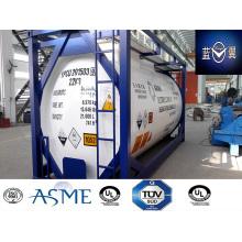 38000L 30 pies carbono acero tanque contenedor para Gas productos químicos, combustible Appvoed por Lr, ASME