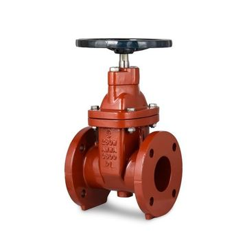 investment casting gate valve WCB