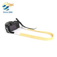Wholesale Fashion Wavelet Point Yellow And White Professional Cotton Camera Strap