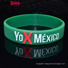 World cup brazil promotion silicone bracelet