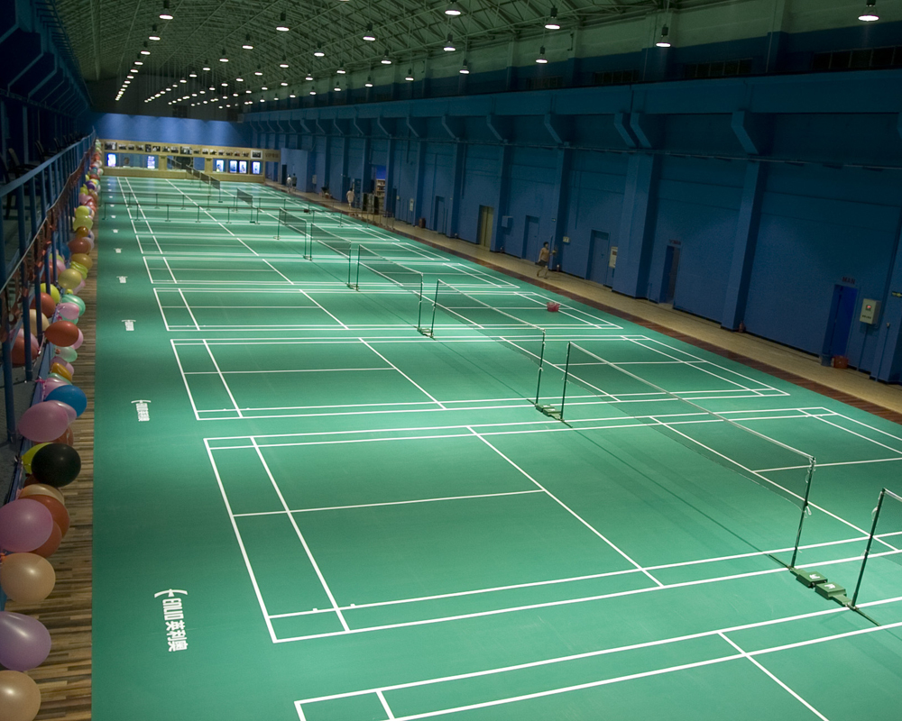 Indoor Badminton flooring