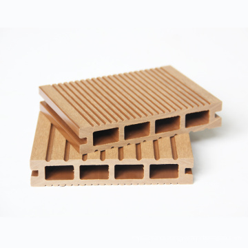 Environment Friendly Quality WPC hollow Decking board Floor Covering For Outdoor Porches