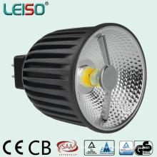 Diodo emissor de luz do refletor 6W 400lm MR16 da ESPIGA 3D com aprovaçã0 de TUV