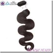 Dropshipping pelo virgen natural para mujeres negras pelo suave y lisa