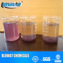 Productos de tratamiento de aguas residuales con tintes de color rosa