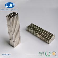 Imán de imán grande del cilindro del generador permanente del imán