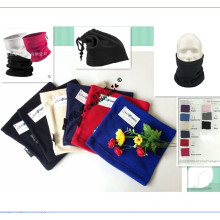 Heißer Verkaufs-neuer Whosale 11 bunter weicher multi Funktions-Sport-Polar-Vlies-Ansatz-Wärmer-Hut und Schal